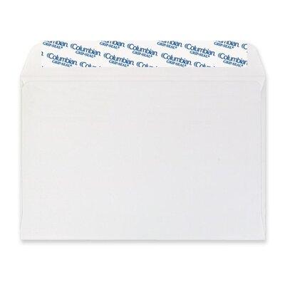 Columbian Envelope Grip-Seal Booklet/Document Envelope, 6 x 9, White, 250/Box