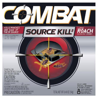 Combat Large Roach Bait (Set of 12)