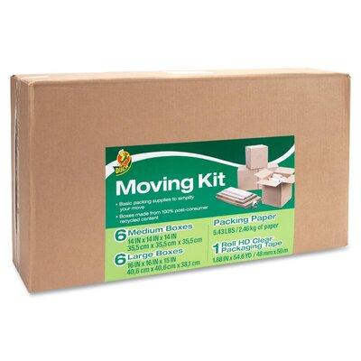 "Duck® Moving Kit (17.8"" H x 32"" W x 7"" D)"