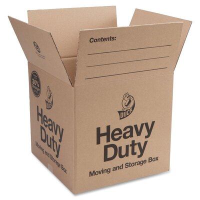 "Duck® Heavy Duty Box (25"" H x 18"" W x 18"" D) (Set of 6)"