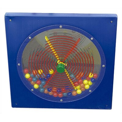 Anatex Paddle Wheel Wall Panel Toy
