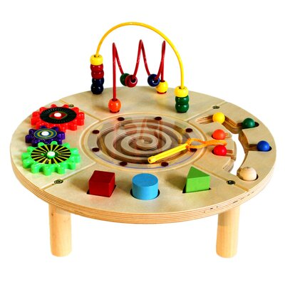 Circle Play Center Activity Table