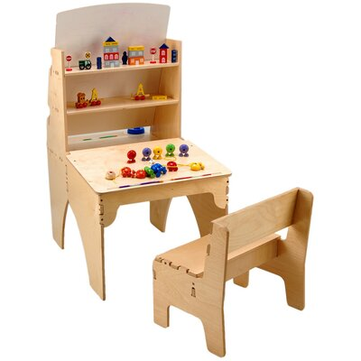 Anatex Easel Desk Combo with Bench