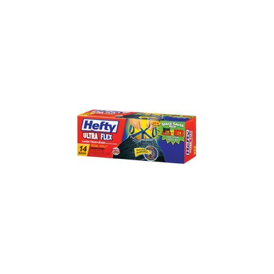 Hefty 30 Gallon Ultra Flex Large Trash Bag 14/box