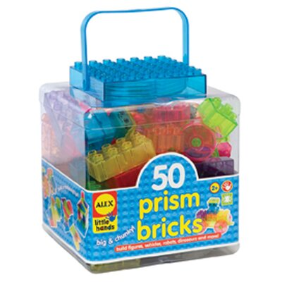 ALEX Toys Prism Bricks
