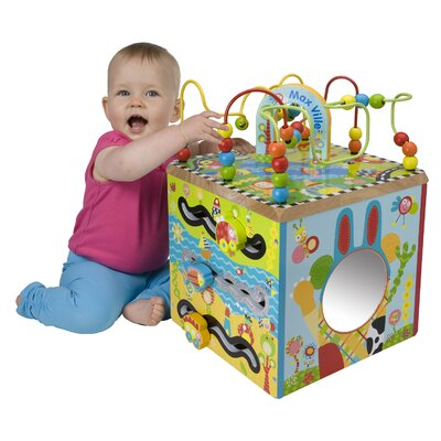 ALEX Toys Maxville Wooden Activity Cube
