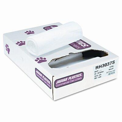 Jaguar Plastics® Super Extra-Heavy Bags, 500/Carton