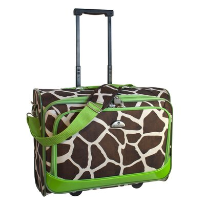 American Flyer Animal Print Underseater Boarding Tote