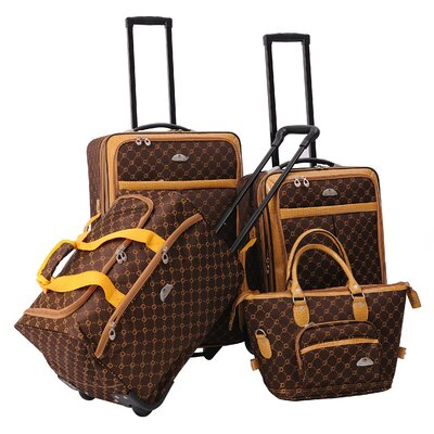 American Flyer AF Signature 4 Piece Luggage Set