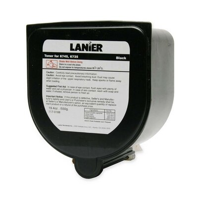 Lanier Copy Toner for Lanier 6745/6735, 18750 Page Yield, Black