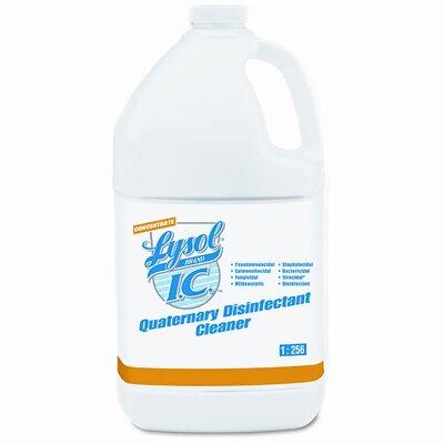 Lysol Brand I.C. Quaternary Disinfectant Cleaner, 41 Gal Bottles/Carton