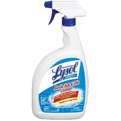 Lysol Basin Tub and Tile Liquid Cleaner