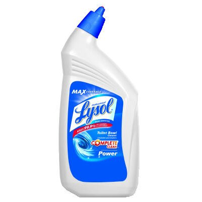 Lysol Disinfectant Toilet Bowl Wintergreen Scent Cleaner