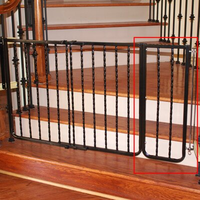 "Cardinal Gates 10.5"" Extension for Metal Décor Gate"