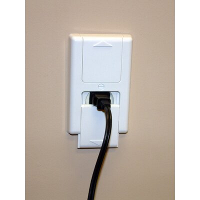 Cardinal Gates Energy Saving Plug Guard in Off White