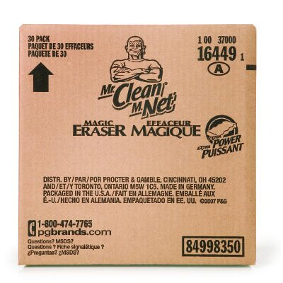MR. CLEAN Extra Power Magic Eraser in White