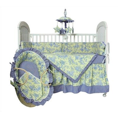 Hoohobbers Crib Bedding Collection in Etoile Lime