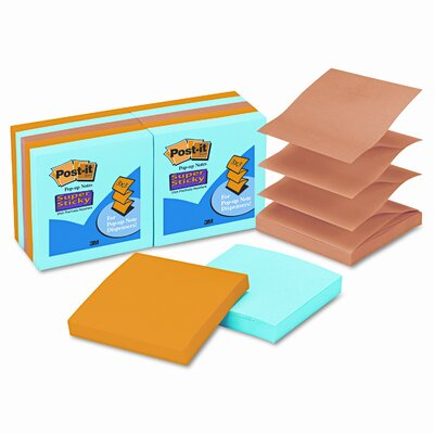 Post-it® Pop-Up Notes Super Sticky Pop-Up Notes Pad (Set of 10)