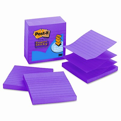 Post-it® Pop-Up Super Sticky Refill Note Pad (Set of 5)