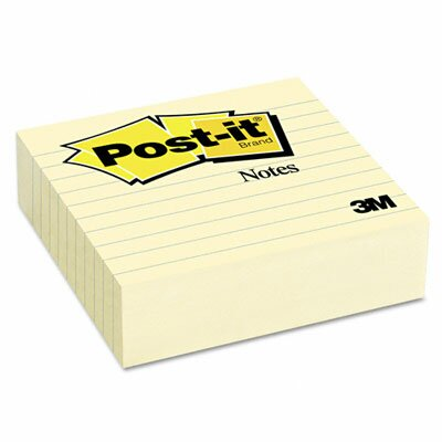 Post-it® Original Lined Note Pad, 300 Sheet