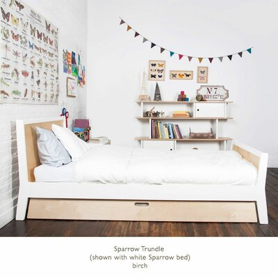 Oeuf Sparrow Twin Bed with Optional Trundle