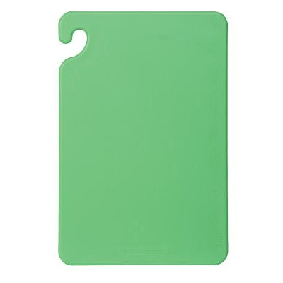San Jamar Cut-N-Carry Color Cutting Board in Green