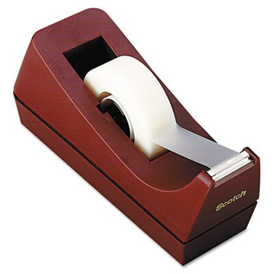 "Scotch-Brite™ Desktop Tape Dispenser, 1"" Core, Weighted Non-Skid Base"
