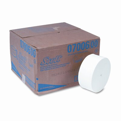 Scott SCOTT Coreless JRT Jr. Bathroom Tissue, 1150 ft, 12 Rolls per Carton
