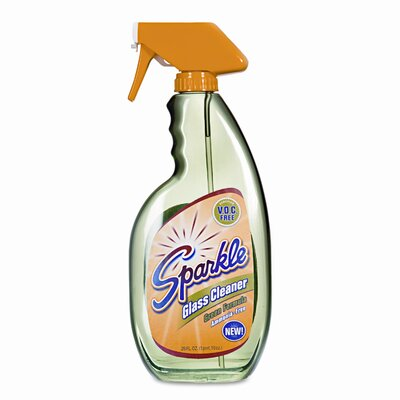 Sparkle Green Formula Glass Cleaner