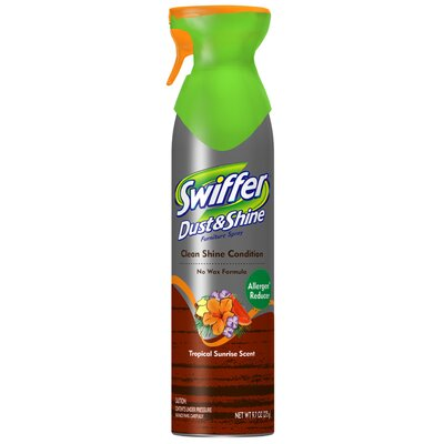 Swiffer 9.7 Oz Tropical Sunrise Dust and Shine Polish Furniture Cleaner