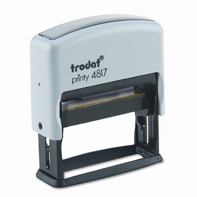 Trodat® Economy 12-Message Stamp