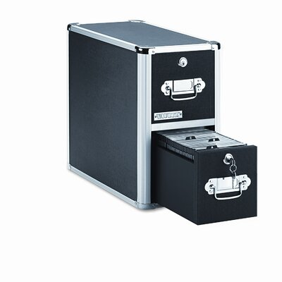 Vaultz® 2 Drawer CD File Cabinet