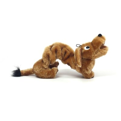 Plush Puppies Bungee Weiner Dog Toy
