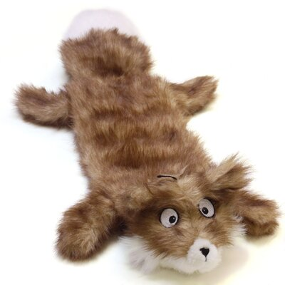 Plush Puppies Squeaker Real Animal Fox Dog Toy