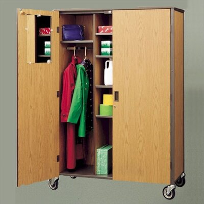Fleetwood Standard Teacher Cabinet with Casters