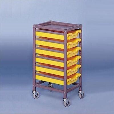 Fleetwood Single Column Mobile Storage Cart