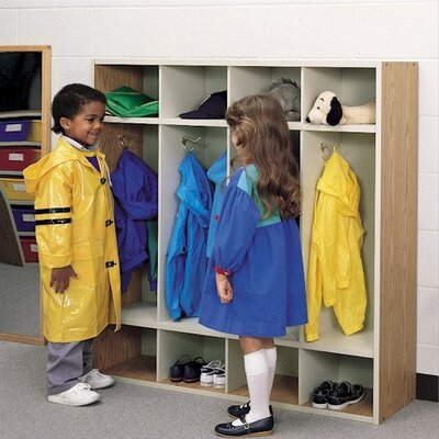 "Fleetwood 48"" H Children's Coat Locker with Hooks"