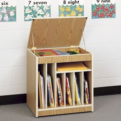 "Fleetwood Mobile Big Book 28"" Storage Rack"