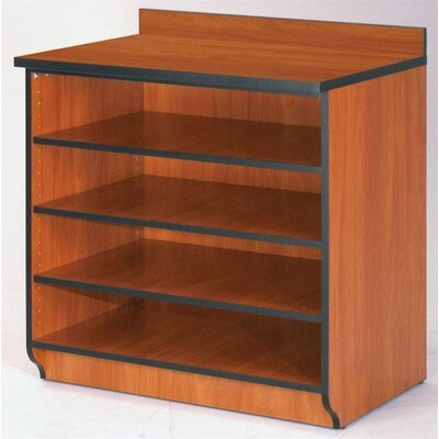"Fleetwood Illusions 36"" H Base Shelf Cabinet without Doors"