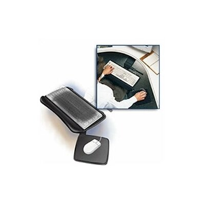 Fleetwood Solutions Adjustable Keyboard Tray with Mouse Pad Surface