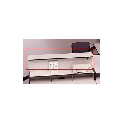 "Fleetwood Solutions Patron 1"" H x 36""-96"" W Desk Ledge"