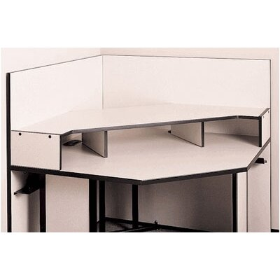 Fleetwood Solutions Corner Table Riser Shelf