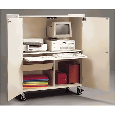 Fleetwood Mobile Computer Workstation Cabinet
