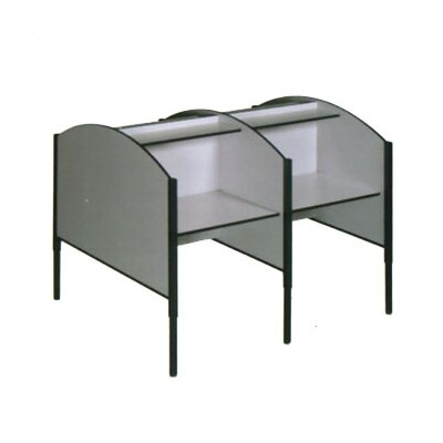 Fleetwood Double Sided Study Carrel Starter