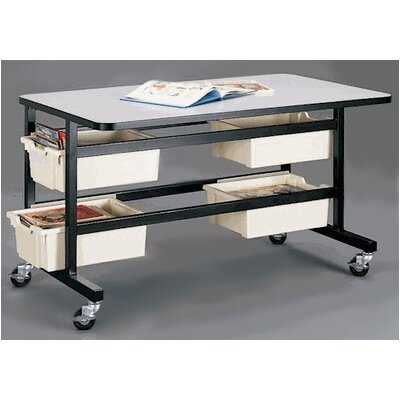 Fleetwood Reading Resource Table with Four Storage Trays