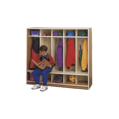 Fleetwood Ten Cubbie Children's Locker with Seat