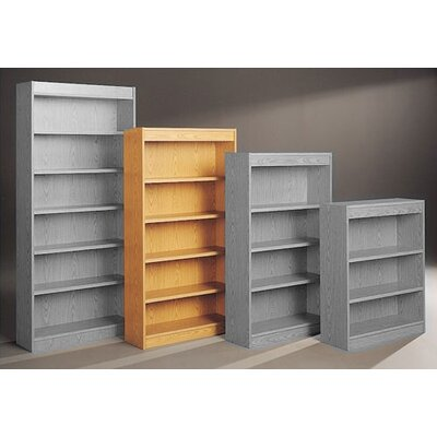"Fleetwood Library 68"" H Five Shelf Double Sided Unit"