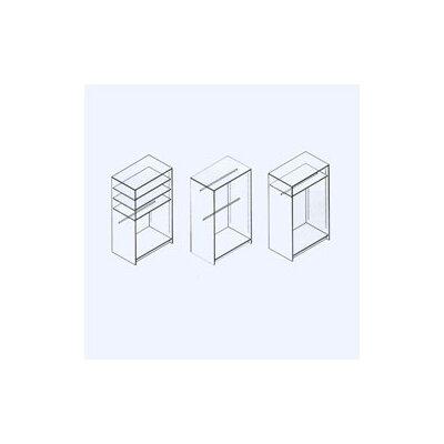"""Fleetwood Harmony 48"""" W Wardrobe Storage"""