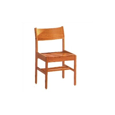 "Fleetwood Library 18"" Wood Classroom Glides Chair"