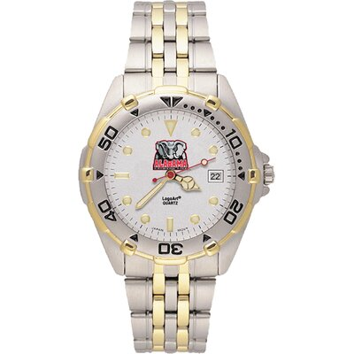 LogoArt® NCAA Men's All Star Bracelet Watch with Team Logo Dial